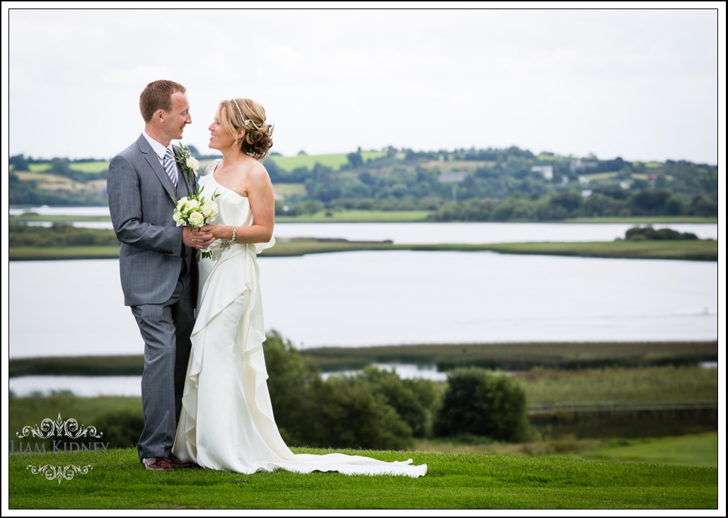 Wedding of Ann and Kieran Ballygar church, Glasson Country House Hotel |Westmeath photographer